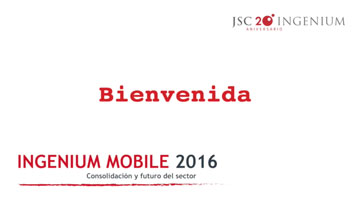 Video Presentación Ingenium Mobile 2016